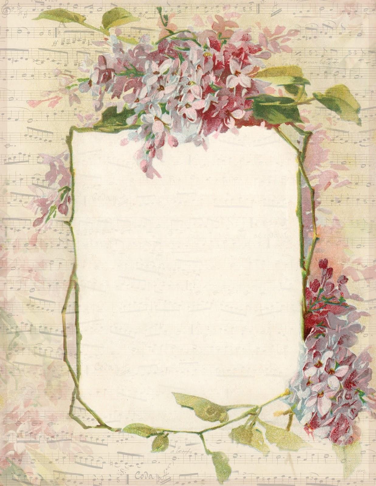 Lilac & Lavender: Spring Lilacs & Music