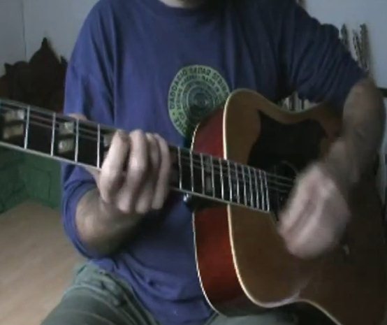 "CARLOS VAMOS PLAYS ""LITTLE WING"" ACOUSTIC TAPPING VERSION HENDRIX"