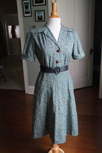 40s shirtdress