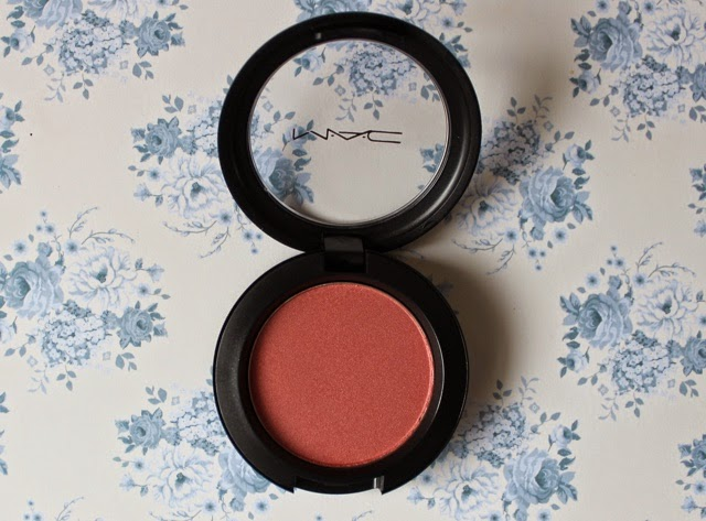mac peachykeen swatch