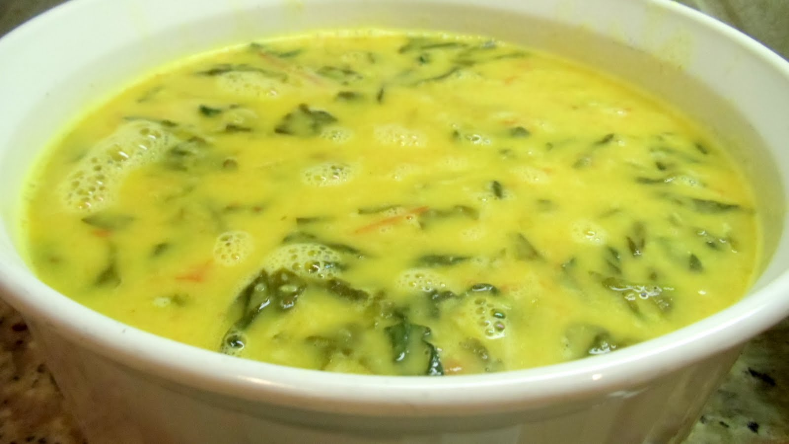 The food I cook...: Moong ki daal with palak