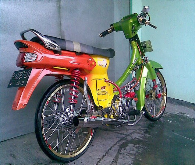 175+ Modifikasi Honda Grand Astrea 2014