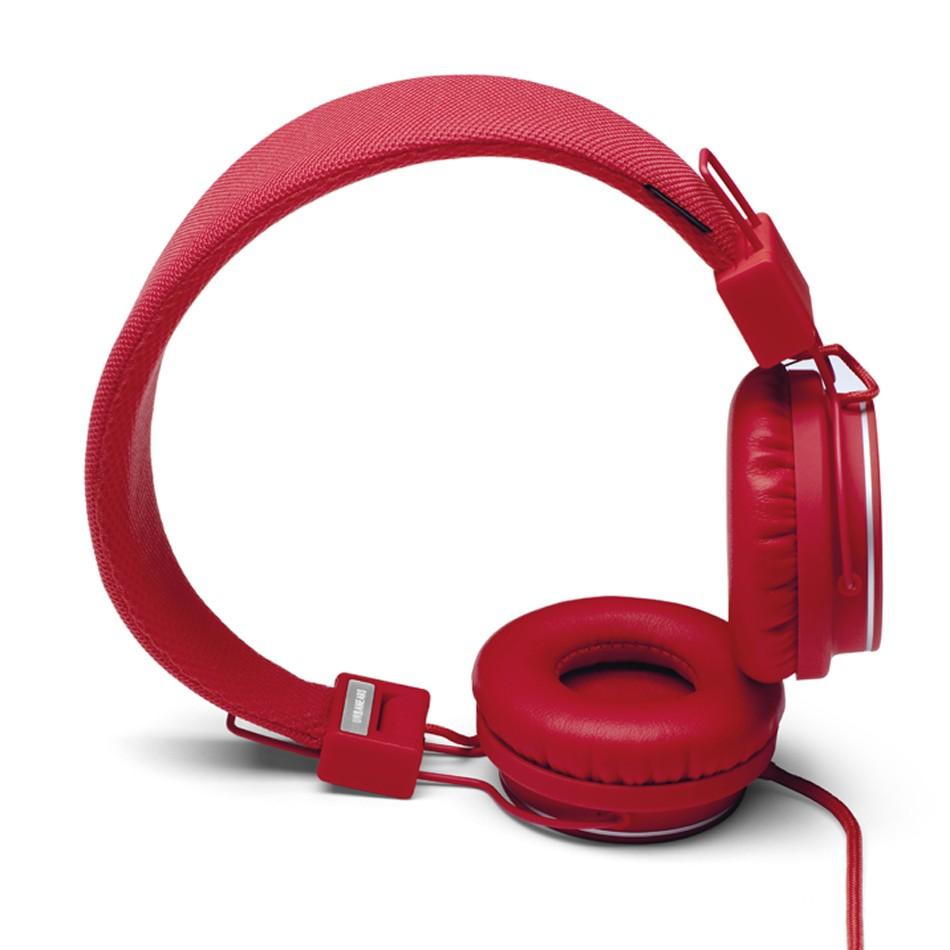 Headphones Wallpaper: Red Headphones