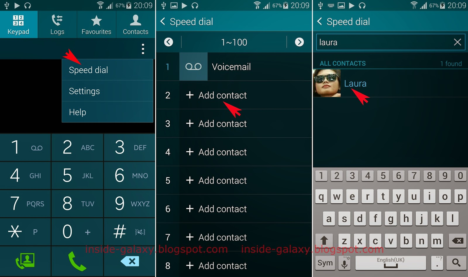 Samsung Galaxy S5: How To Use Speed Dial Feature In Android 442 Kitkat