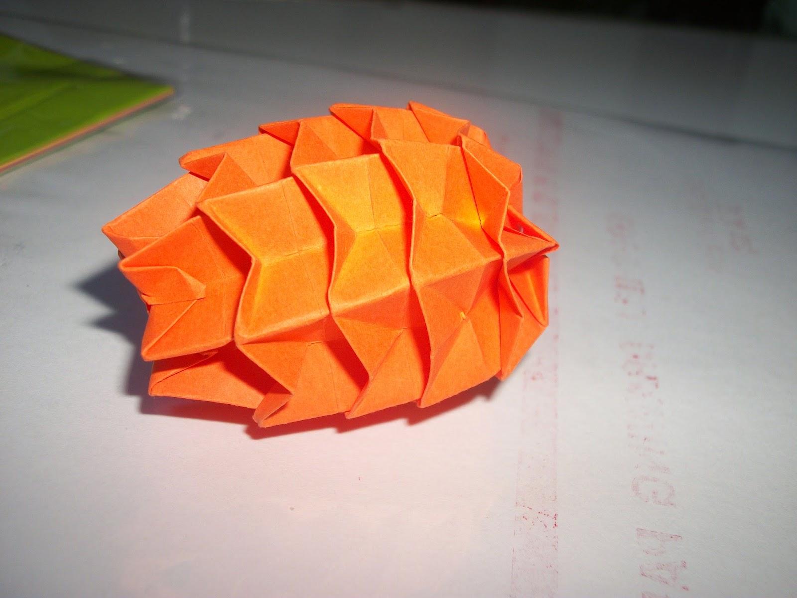 yey origami pine cone