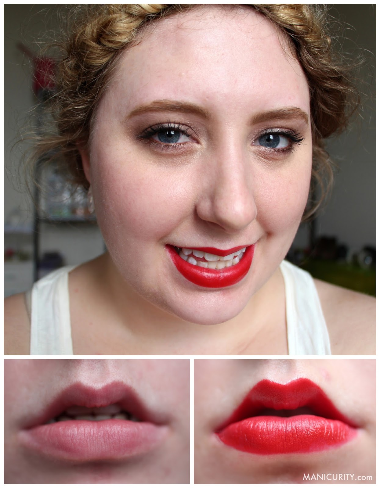 Manicurity - Ipsy Glam Bag December 2013 Hits & Misses | J.Cat Beauty The Big Lip Pencil Red Rose review, swatches, on lips