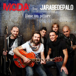 Testo download Come un pittore - Modà feat Jarabe De Palo