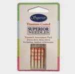 Superior Titanium Topstitch Needles