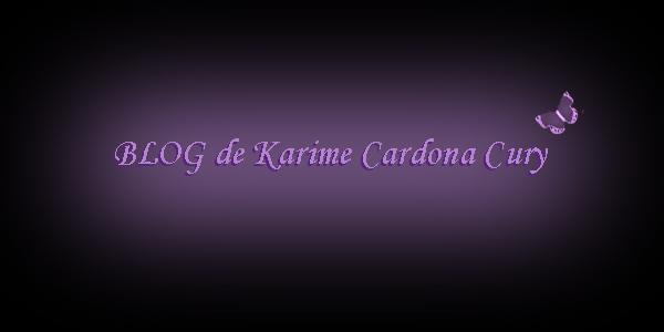 Blog de Karime Cardona Cury