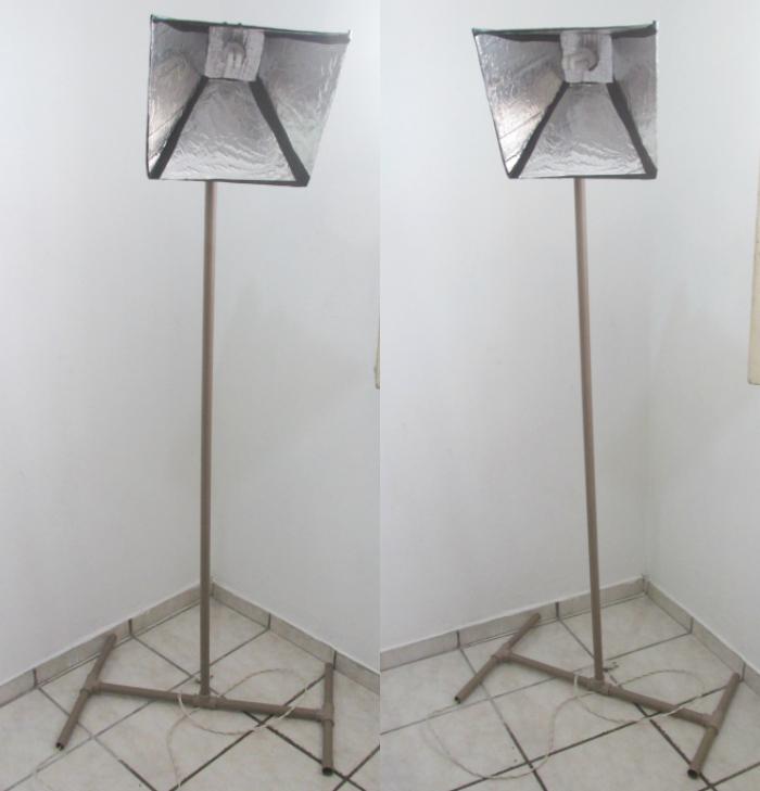 DIY Iluminação profissional para vídeos e fotos