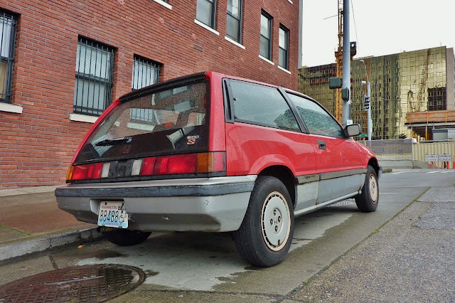 Seattle 39 s parked cars august 2014 for 1984 honda civic