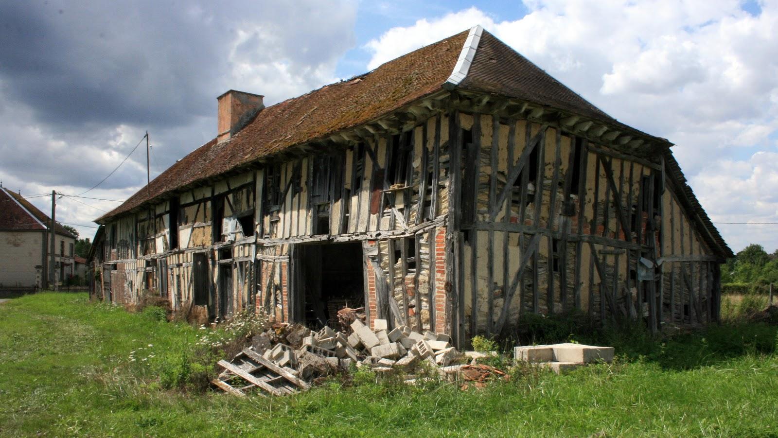 L 39 oeil americain mon cybercarnet vieille ferme champenoise colombages - Vieille porte de ferme ...