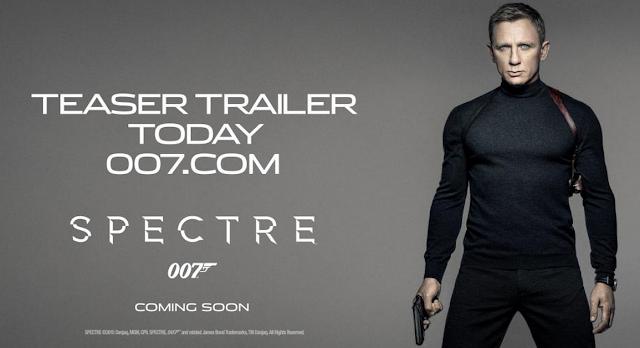 007 SPECTRE : bande-annonce teaser
