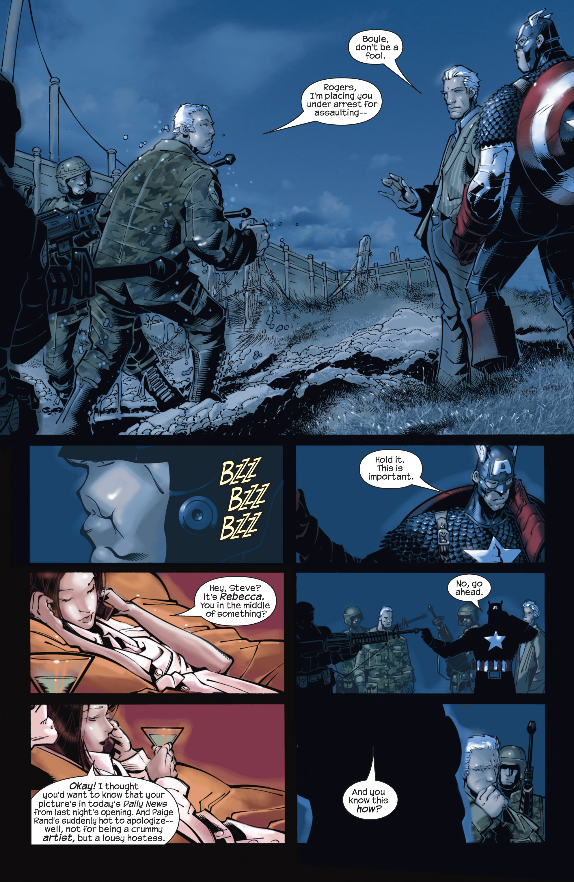 Captain America (2002) Issue #22 #23 - English 19