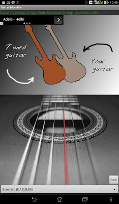 Aplikasi Android Guitar Education