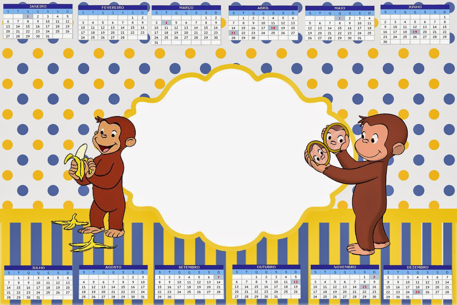 Curious George Free Party Printables Is It For Parties Is It