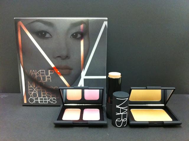 nars makeup cosmetics zara summer collection 夏日妝容 Makeup Your Mind II Cheek Set