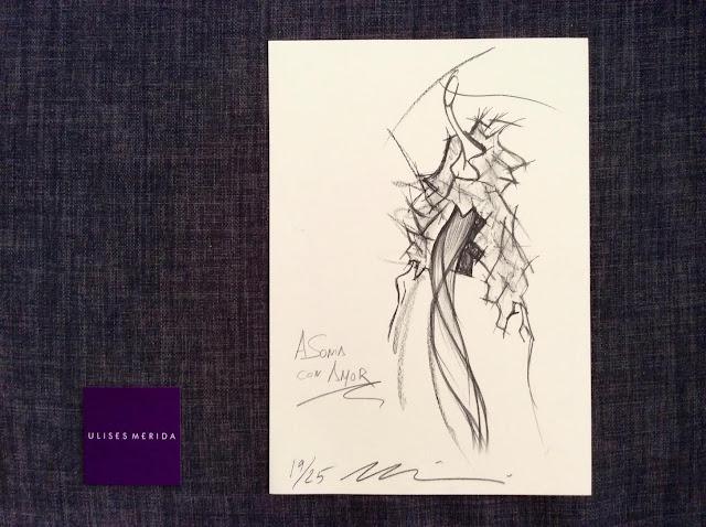 Ulises Mérida desing MBFW Madrid fashionjob Esencia Trendy Sonia Hernández Asesora de Imagen Stylist celeb luxe