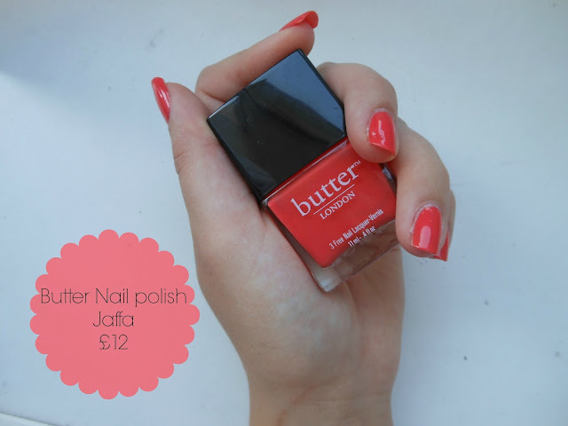 Butter London nail polish in Jaffa - AlbertineSarah