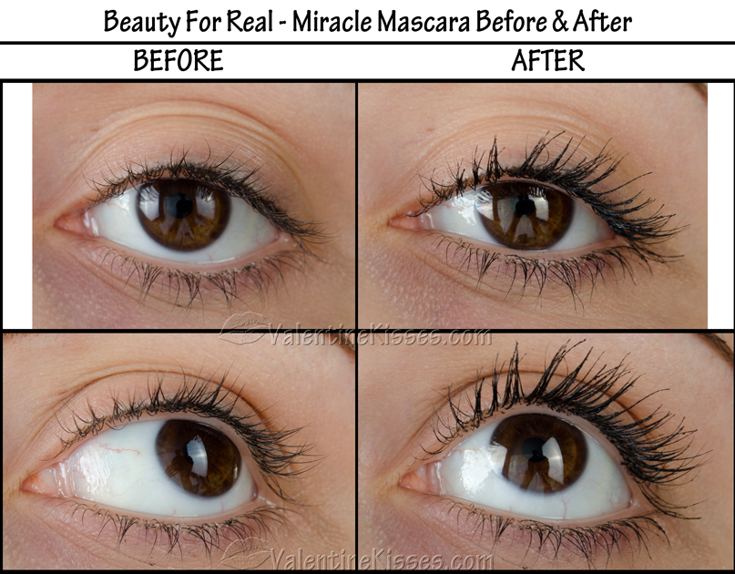 Valentine Kisses: Beauty For Real Miracle Mascara ...