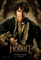 The Hobbit: The Desolation of Smaug - Bilbo Baggins Character Poster Martin Freeman