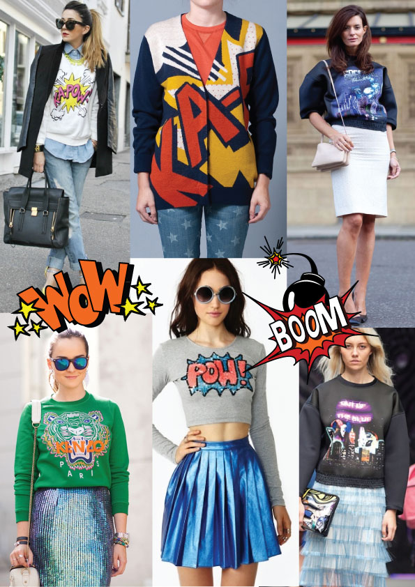 pop art comic fashion