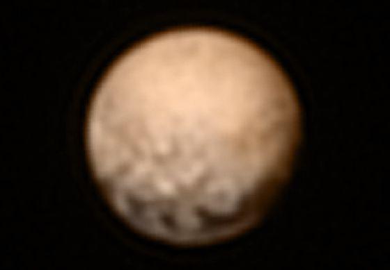 La foto más cercana de Plutón