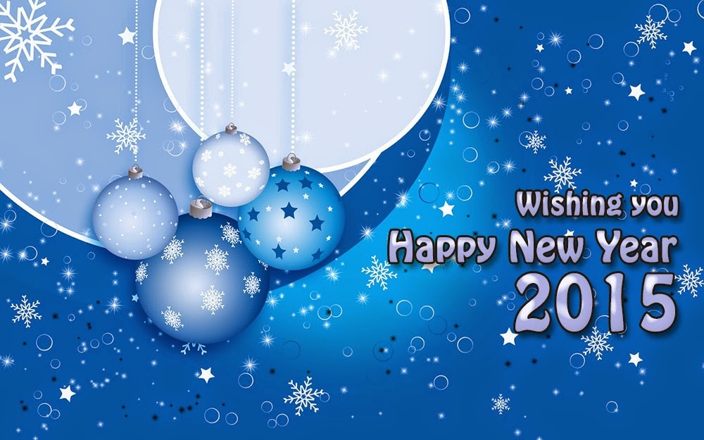Best Wishes for Happy New Year Holiday Cards 2015