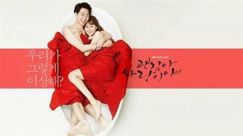 Poster drama 'It's Okay, That's Love'