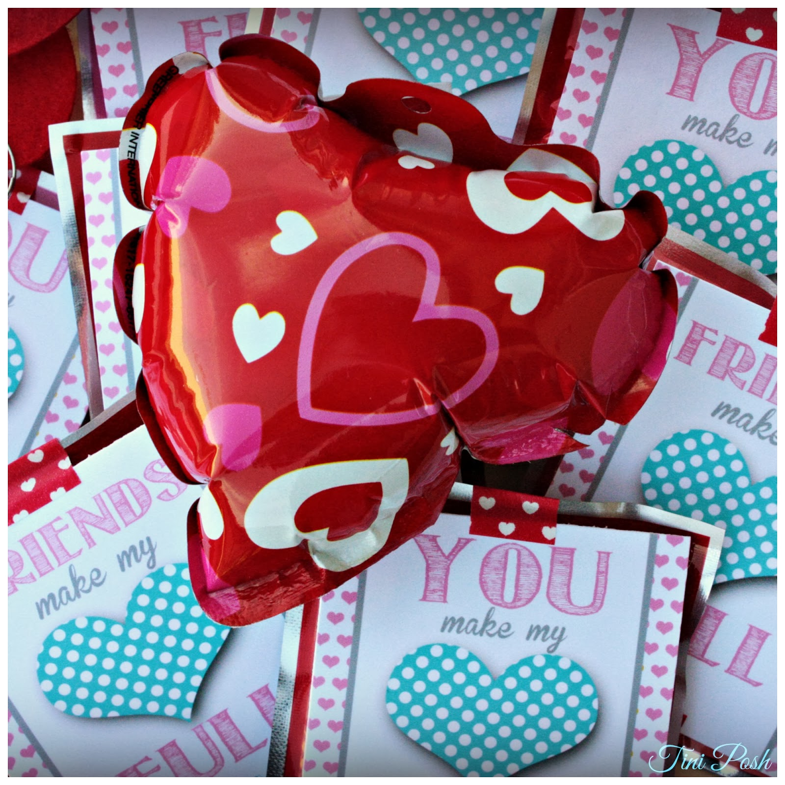 Tini Posh You Make My Heart FULL Free Valentines Day