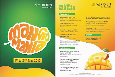Mango Mania Food Promotion in Le Meridien
