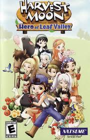 Link Harvest Moon Hero of Leaf Valley psp iso clubbit