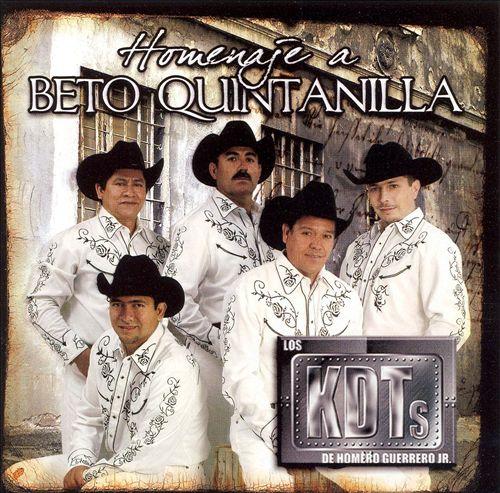 Homero Guerrero Jr. Y Los Kdts De Linares - Homenaje A Beto Quintanilla CD Album - Descargar