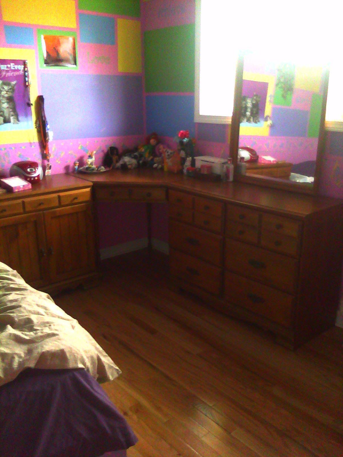 Vanity, desk dresser for girl room