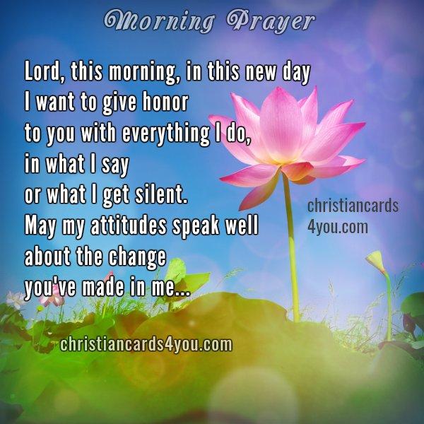 Morning Prayer, good morning prayers, free christian message, free image, Mery Bracho prayers