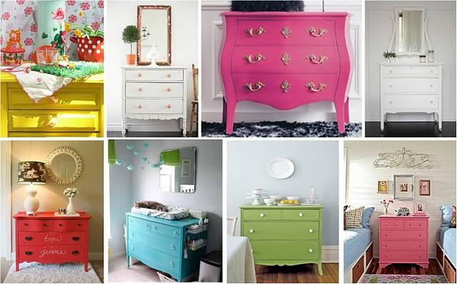Blog decora o de interiores comodas antigas pintadas - Comodas pintadas ...