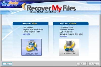 تحميل برنامج استعادة الملفات المحذوفة Recover My Files