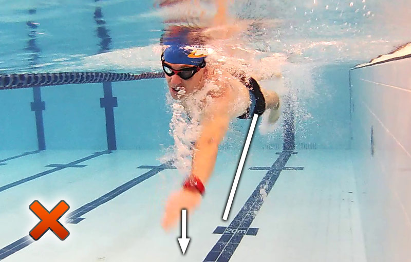 how to get good at swimming quickly