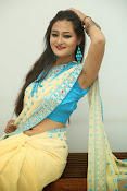 Nilofer sizzling saree photos-thumbnail-14