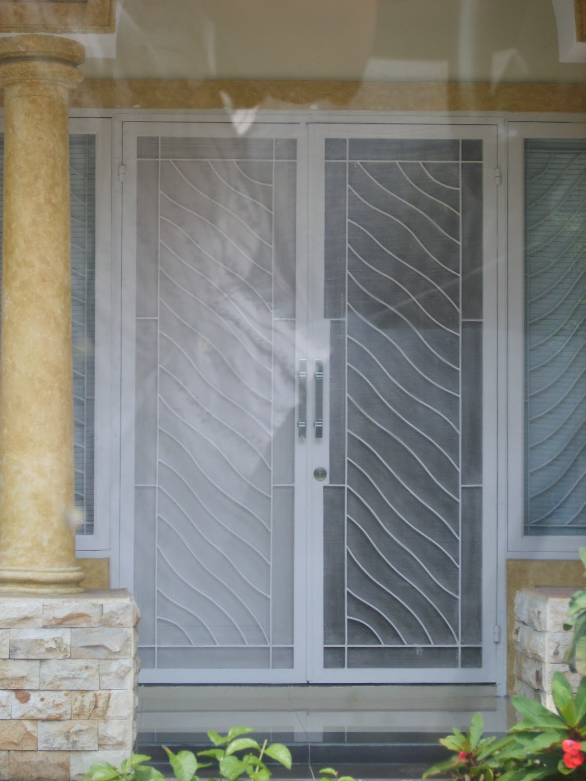 Gambar Teralis Dan Pintu Besi Teralis Minimalis Amp Clasik