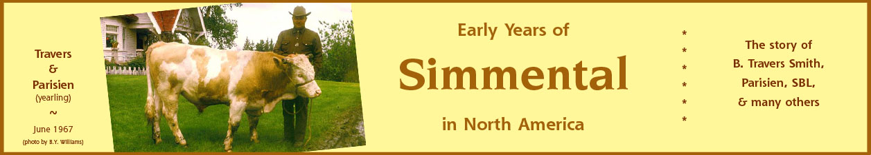 Early Years of Simmental in North America