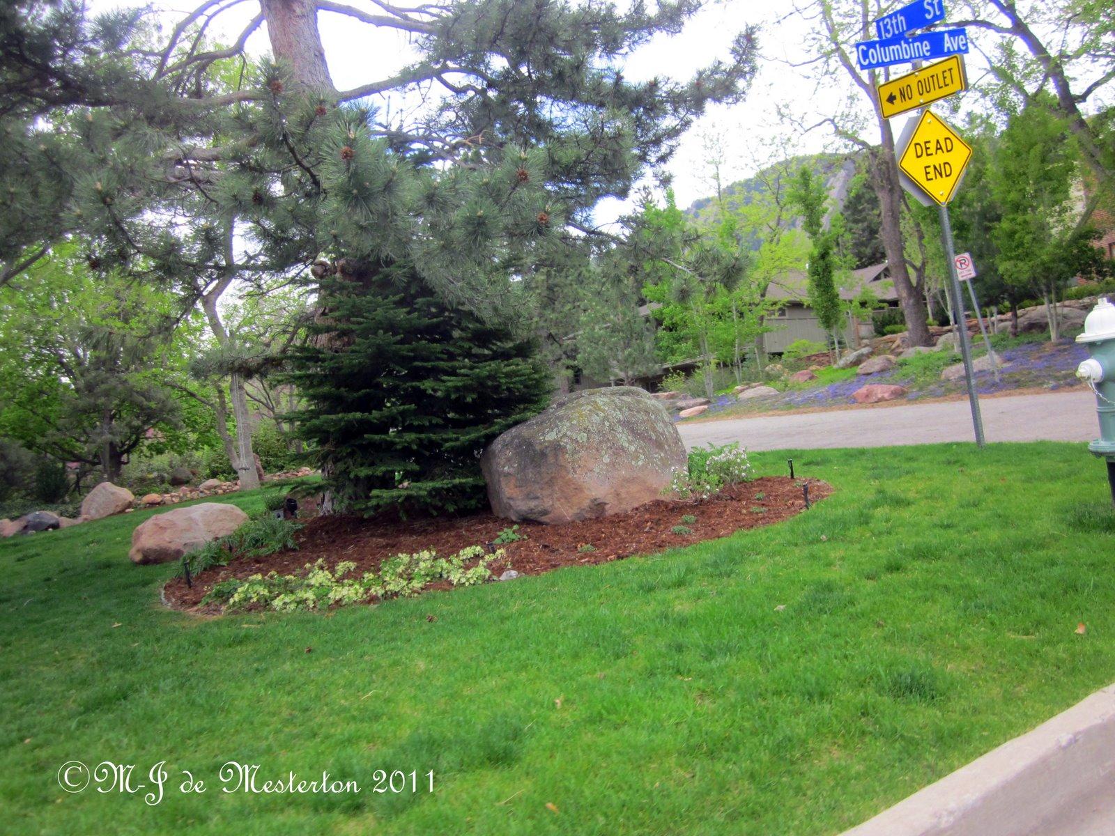 Elegant Landscaping Elegant Garden In Boulder Colorado