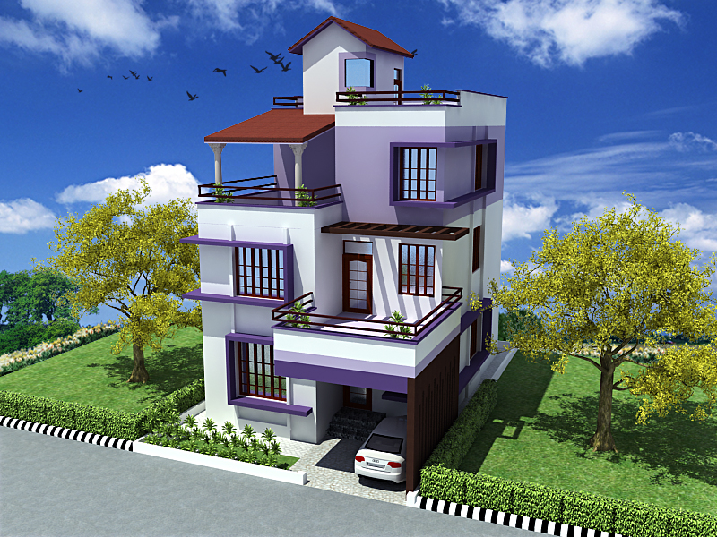 Triplex home joy studio design gallery best design for Triplex plans and designs