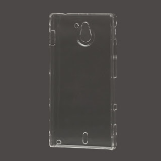Ultra-thin Clear Crystal Case Cover for Sony Xperia Sola MT27i