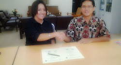 Penandatanganan MOU Benedicta Ankada & IPB