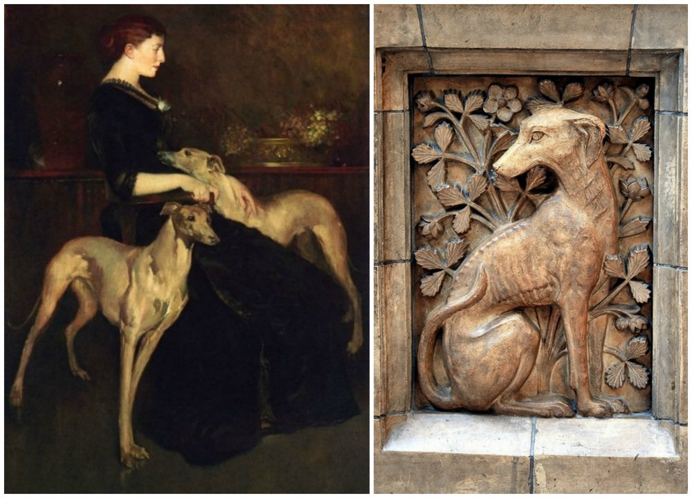 John White Alexander y detalle Museo Natural Historia Londres