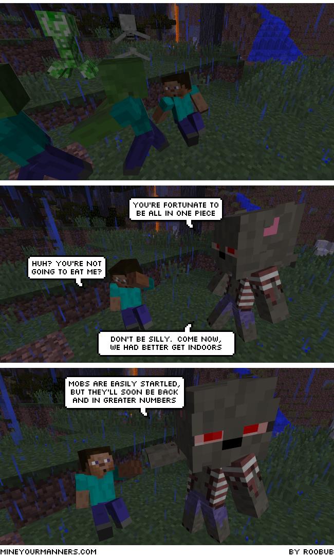 Minecraft Comic
