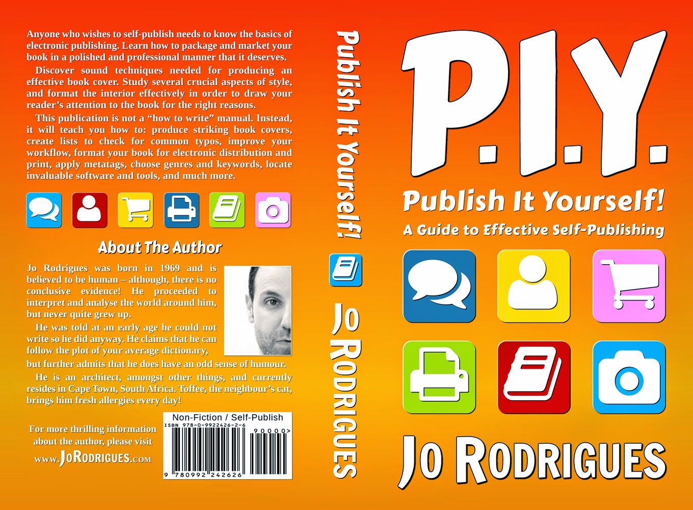 P.I.Y. - Publish It Yourself! - Print Cover
