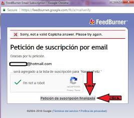 """Click en """"petición de suscripción finalizada"""""""