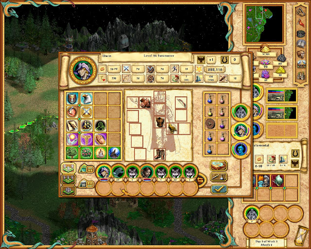 Heroes of Might and Magic 4 - Make a Summoner Description